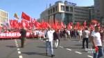 Russians march against pension reform