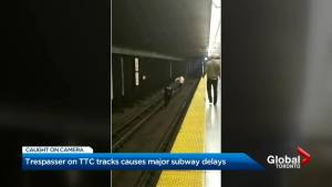 Video shows person running into TTC subway tunnel, police investigating