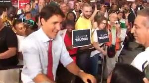 Trudeau unapologetic after calling protester a racist
