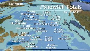 Saskatoon weather outlook: snow slides back in