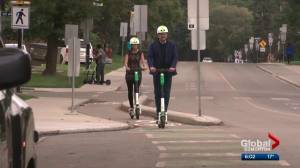 E-scooter companies encourage Edmontonians to ride safely