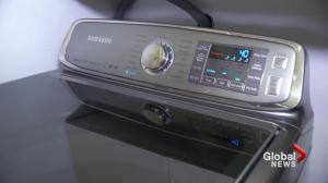 Some Samsung washing machines under recall in Canada
