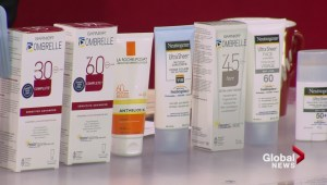 Sunscreens for spring and summer