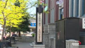 A controversial bylaw that would ban people from sitting on some downtown streets in Penticton has divided the community