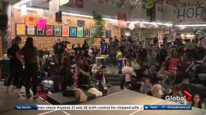 St. Albert high school students 48-hour cancer bikethon
