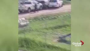 Large RCMP takedown caught on video in Maskwacis