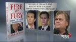 'Fire and Fury' hits bookshelves as Bannon vs. Trump feud continues