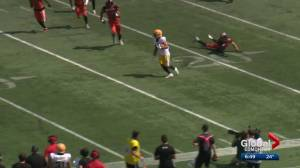 Running back Jordan Robinson impresses in Eskimos' pre-season game