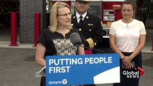 Ontario announces funding for response efforts in large-scale, complex emergencies