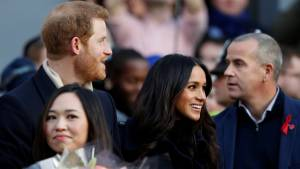 Prince Harry and Meghan Markle attend first public engagement