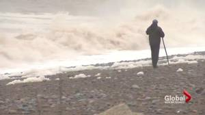 High tides and pounding surf after New Brunswick storm