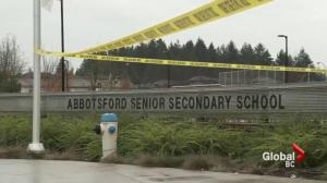 Officials say Abbotsford school stabbing was 'random act of violence'
