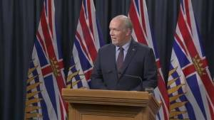 'Today's announcement does not reduce the risk of a diluted bitumen spill': B.C. Premier John Horgan