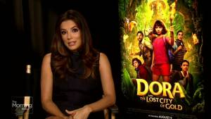 Eva Longoria on the new Dora the Explorer movie