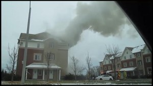 Fire at Peterborough student residence
