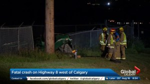 One man killed, another man injured in crash west of Calgary