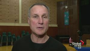 Paul Coffey visits Martin Academy