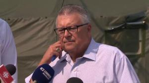 Numbers entering Quebec as asylum seekers has moderated: Goodale