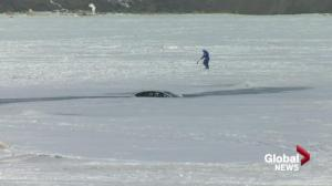Driver speaks out after vehicle recovered from Last Mountain Lake