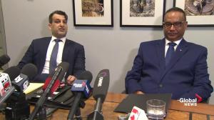Global News asks why Jaspal Atwal won't take questions in heated exchange with lawyer