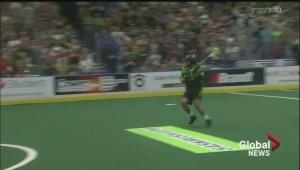 Years of practice leads to game-winning goal for Saskatchewan Rush hero