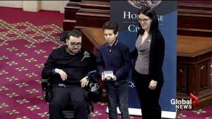 Heroes of Quebec City Mosque shooting are honoured by the National Assembly
