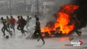 Fuel price hike sparks protests in Zimbabwe