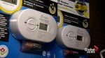 Are all Quebec schools equipped with carbon monoxide detectors?