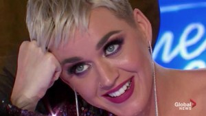 Katy Perry gives American Idol contestant his first kiss