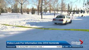 Police look for information into 2014 homicide