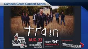 Train playing Cameco Cares concert series in Saskatoon