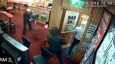 Irish great-grandfather fights off robbers after they barge