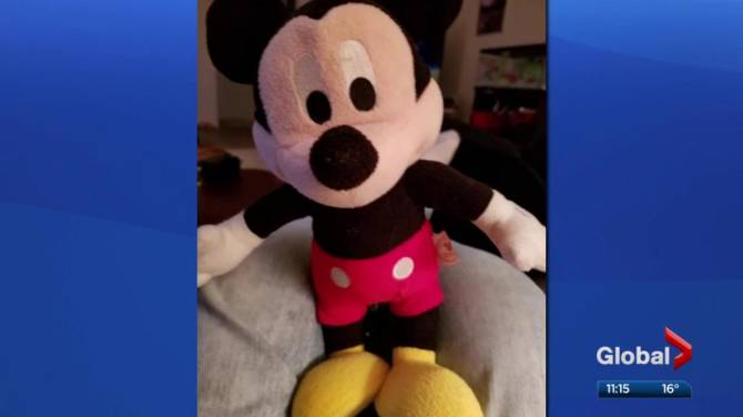 Lost Mickey Mouse toy finds way home after weekend adventure
