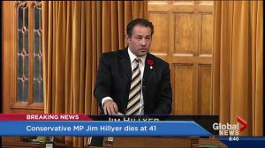 Conservative MP Jim Hillyer dies at age of 41