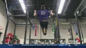 LG Fitness – strength building