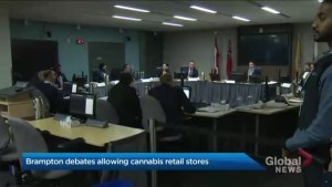 Brampton council votes in favour of pot shops