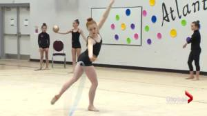 High hopes for Moncton gymnast (02:12)