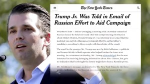 New questions emerge regarding Donald Trump Jr.'s meeting with a Russian lawyer