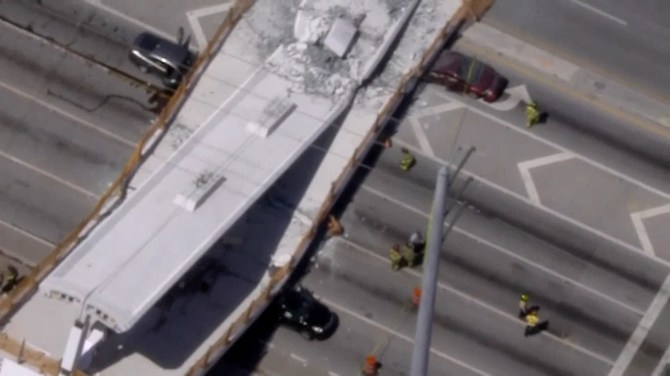 At least 6 dead after Florida bridge collapses, officials say likely more victims