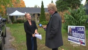 Pickering candidate believes online voting glitch caused her to lose the election.