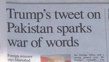 Pakistan leaders fire back after Donald Trump's 'lies and
