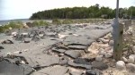 Popular Nova Scotia beach road remains significantly damaged from severe winter storm
