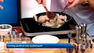 Meatless pulled pork