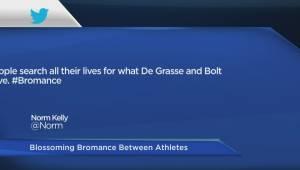 Bromance between Usain Bolt and Andre De Grasse