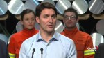Trudeau says Canada is working to prevent dumped Chinese steel
