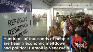 Venezuela experiencing mass exodus as people flee economic meltdown and political turmoil