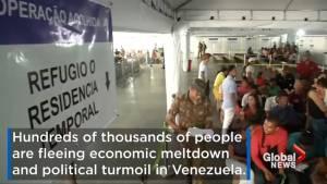 Venezuela experiencing mass exodus as people flee economic meltdown and political turmoil