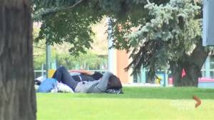 Lethbridge's homeless struggle to keep cool in heat wave (01:39)