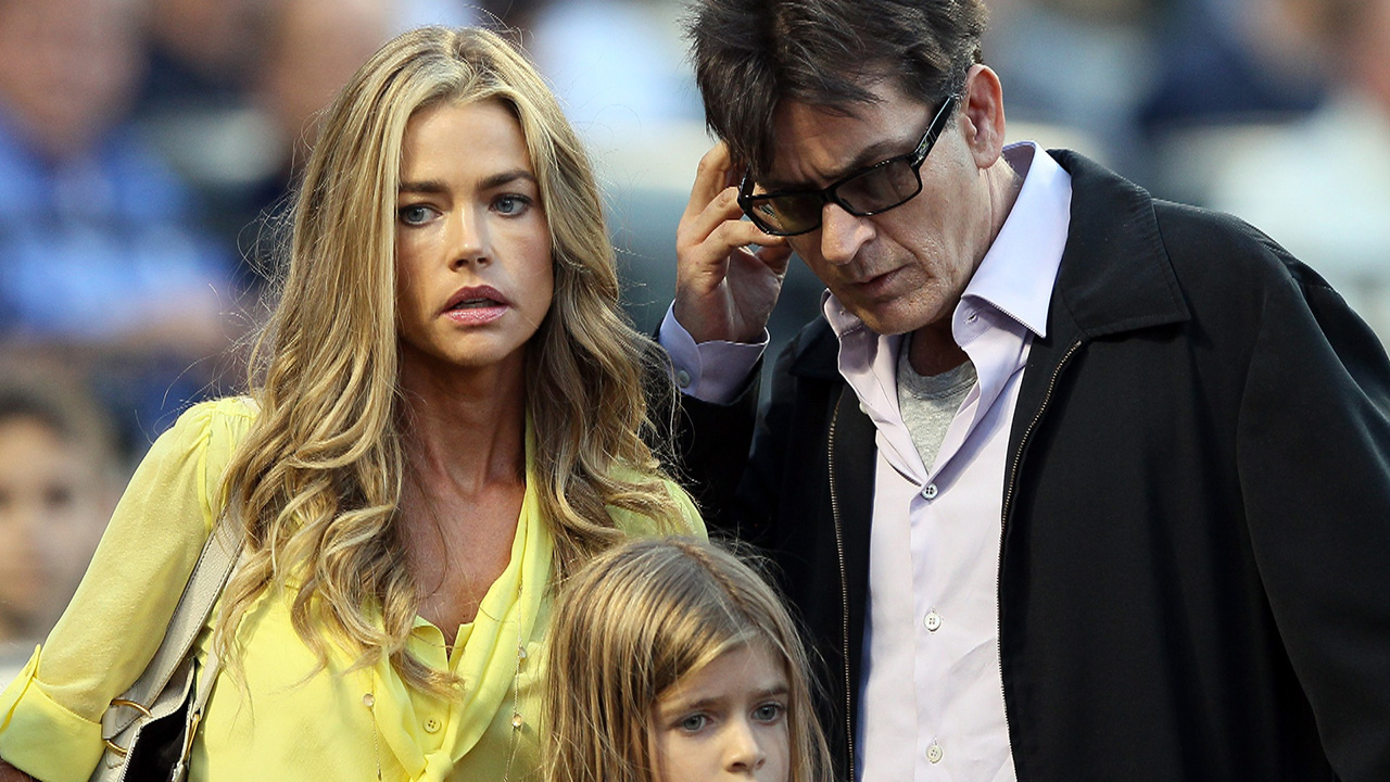 Denise Richards Claims Charlie Sheen Owes $450,000 in Child Support