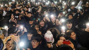 South Koreans celebrate arrival of 2019 in Seoul